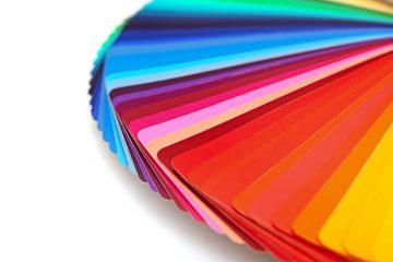 Eventail de couleurs
